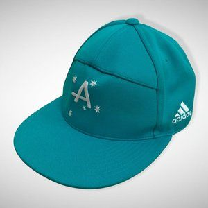 Adidas Spellout Embroidered Blue Hat Cap